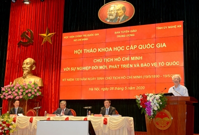 President Ho Chi Minh and the cause of national renewal, development and defense
