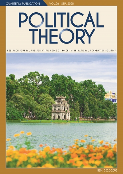 Political Theory Journal Vol.26 - Sep, 2020