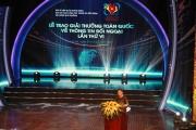 Lễ trao Giải thưởng toàn quốc về thông tin đối ngoại lần thứ VI